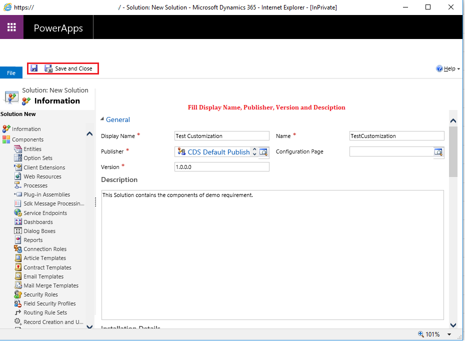 2 1 - Solutions in Microsoft Dynamics CRM/365