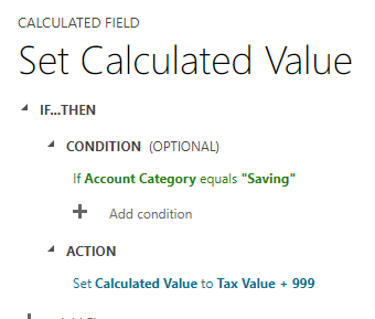 Pic 2 - Calculated Fields in Dynamics 365